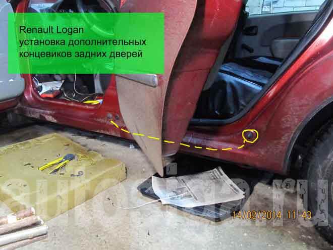 Установка автосигнализации на Renault Logan