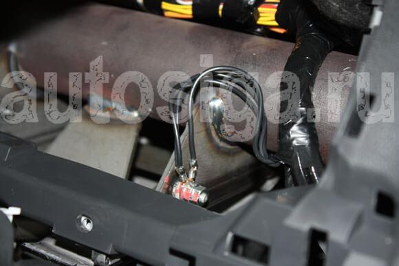 Установка автосигнализации на Lada Largus